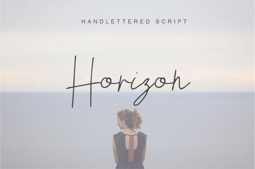 Horizon-Free-Font