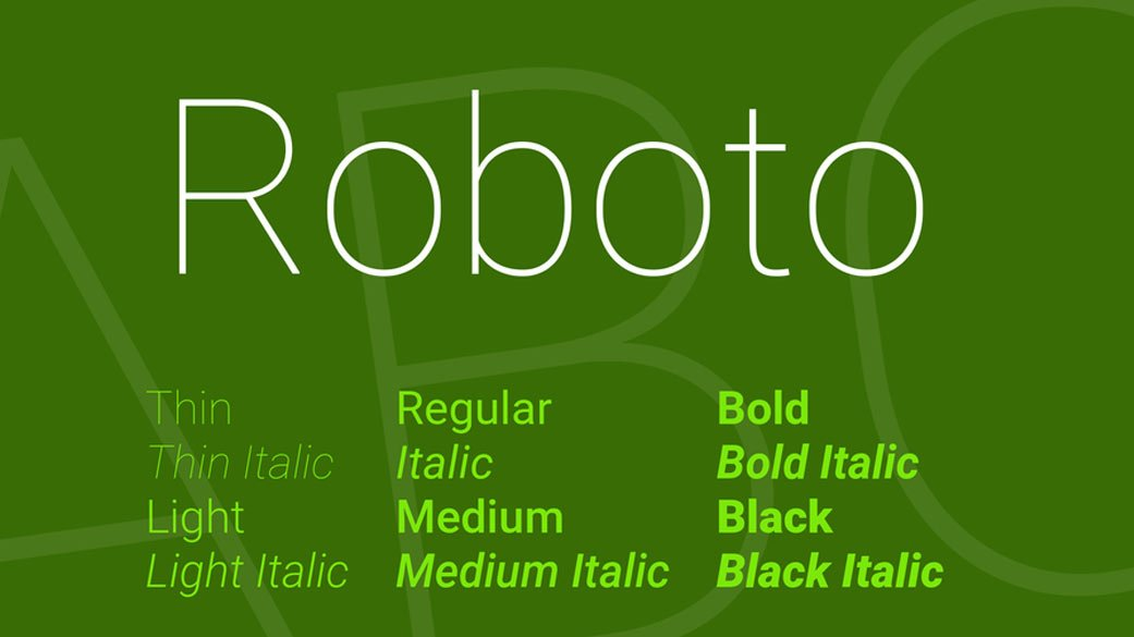 Roboto-Best-Free-Fonts-2019