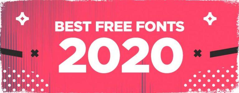 best-free-fonts-2020