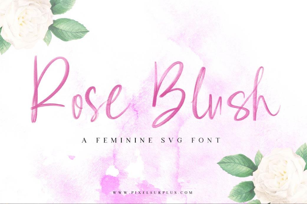 rose-blush-script-font