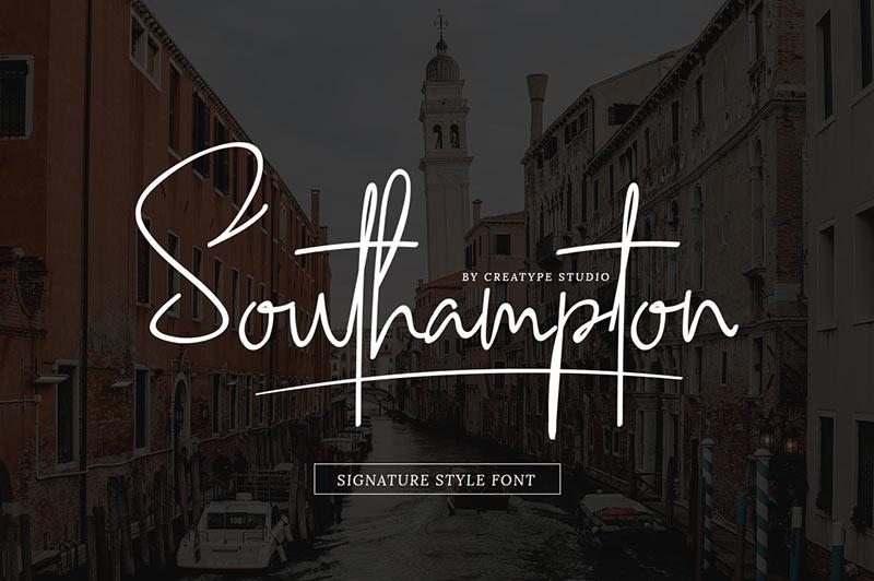 southampton-best-free-font