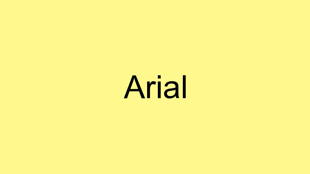 The-Best-Fonts-To-Use-On-Your-Resume-Arial