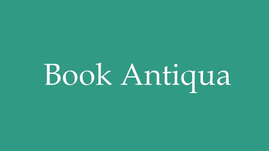 The-Best-Fonts-To-Use-On-Your-Resume-Book-Antiqua