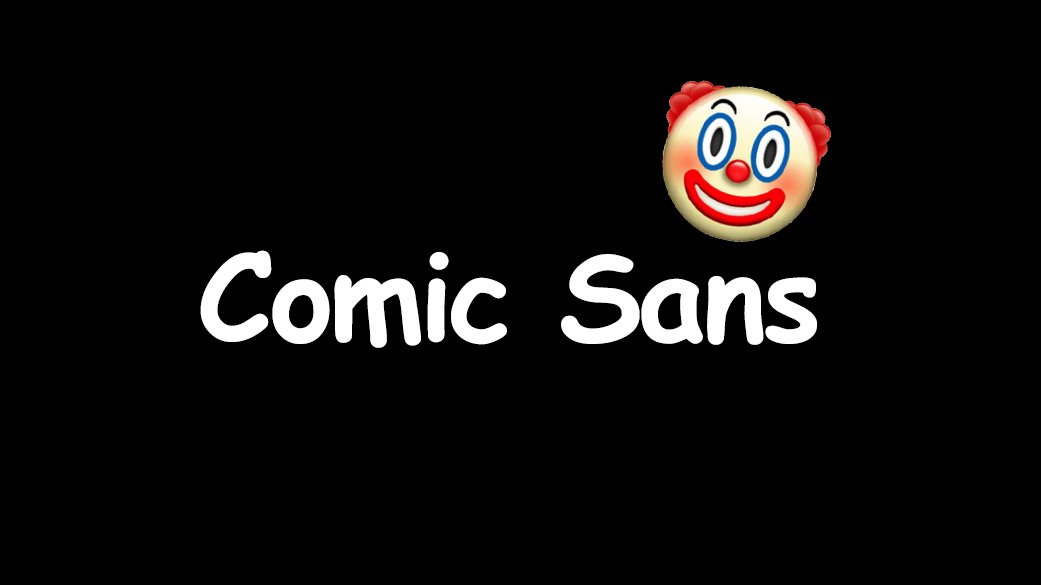 The-Best-Fonts-To-Use-On-Your-Resume-Book-Comic-Sans