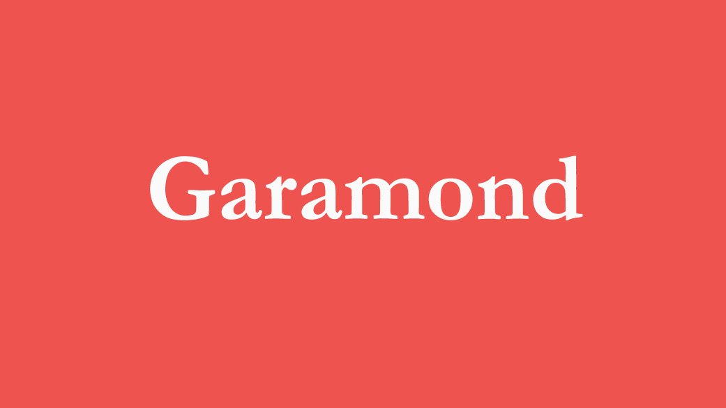 The-Best-Fonts-To-Use-On-Your-Resume-Garamond