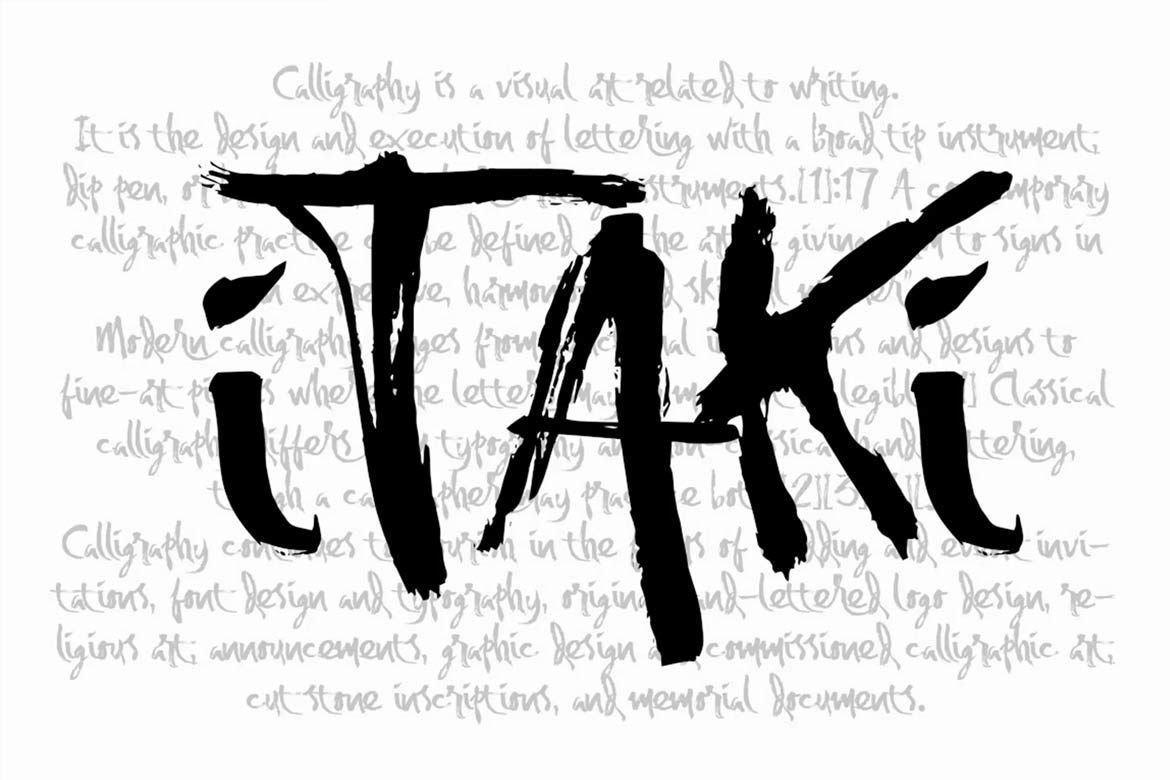 best-script-fonts-on-envato-elements-itaki