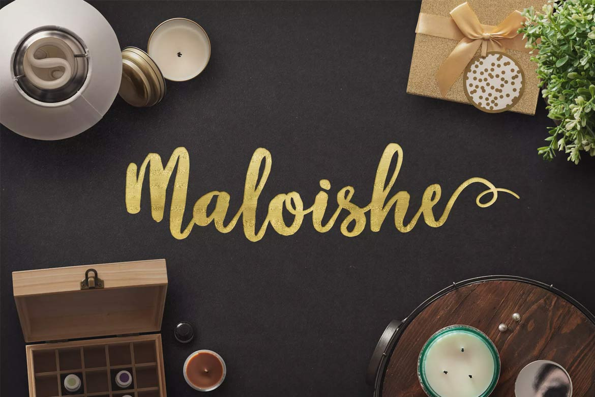 best-script-fonts-on-envato-elements-maloishe