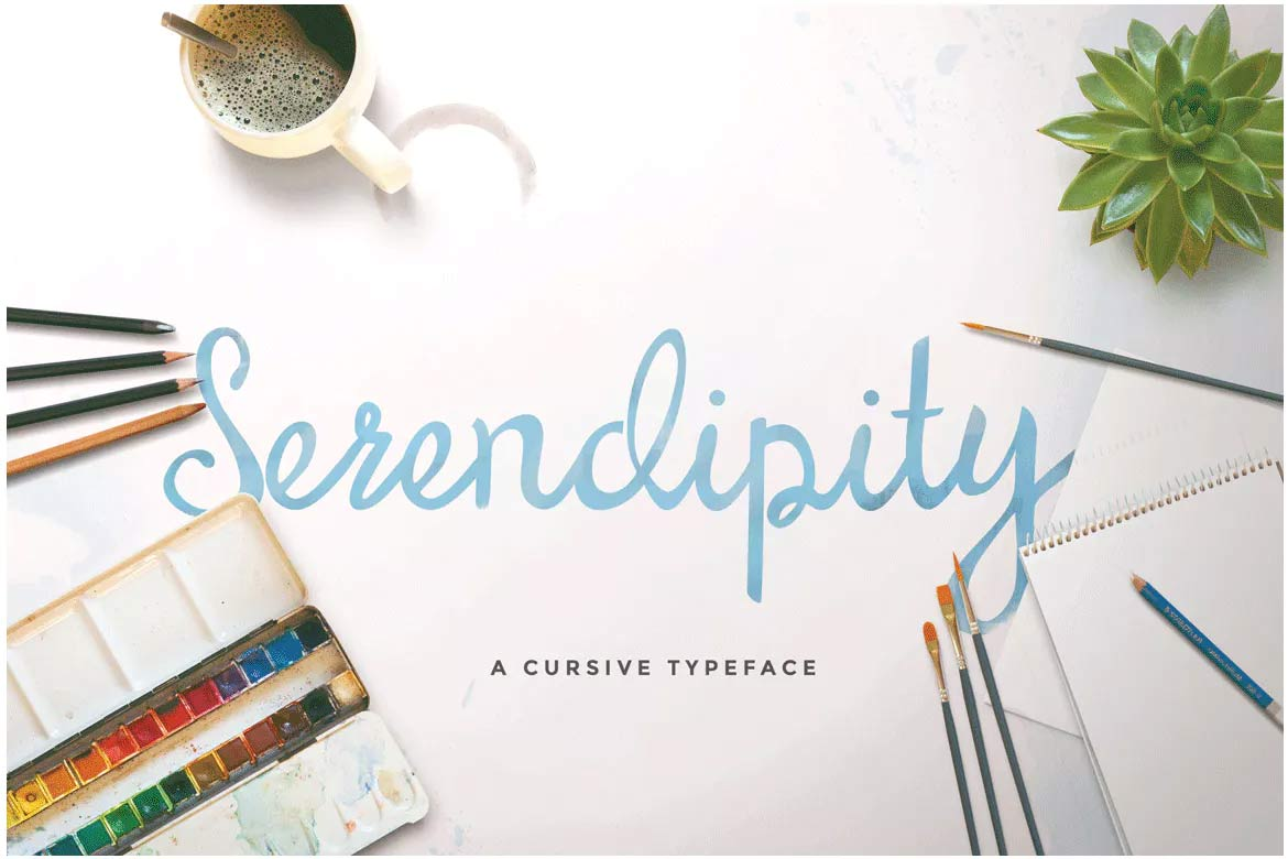 best-script-fonts-on-envato-elements-serendipity