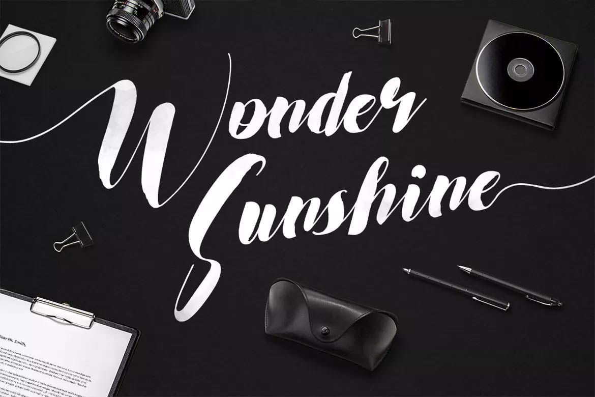 best-script-fonts-on-envato-elements-wonder-sunshine