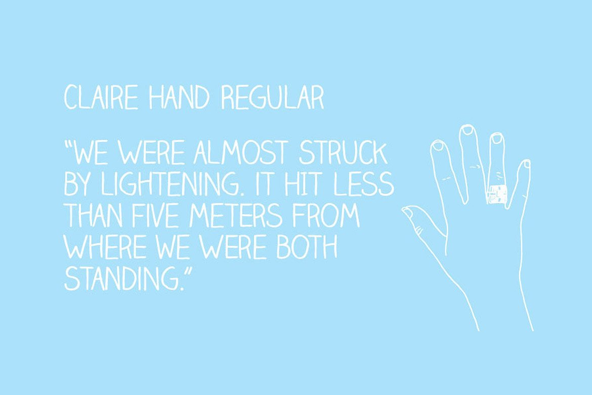 claire-hand-best-handwriting-fonts