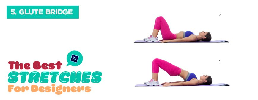 glute-bridge-stretches-for-designers