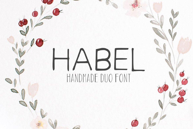 habel-free-font