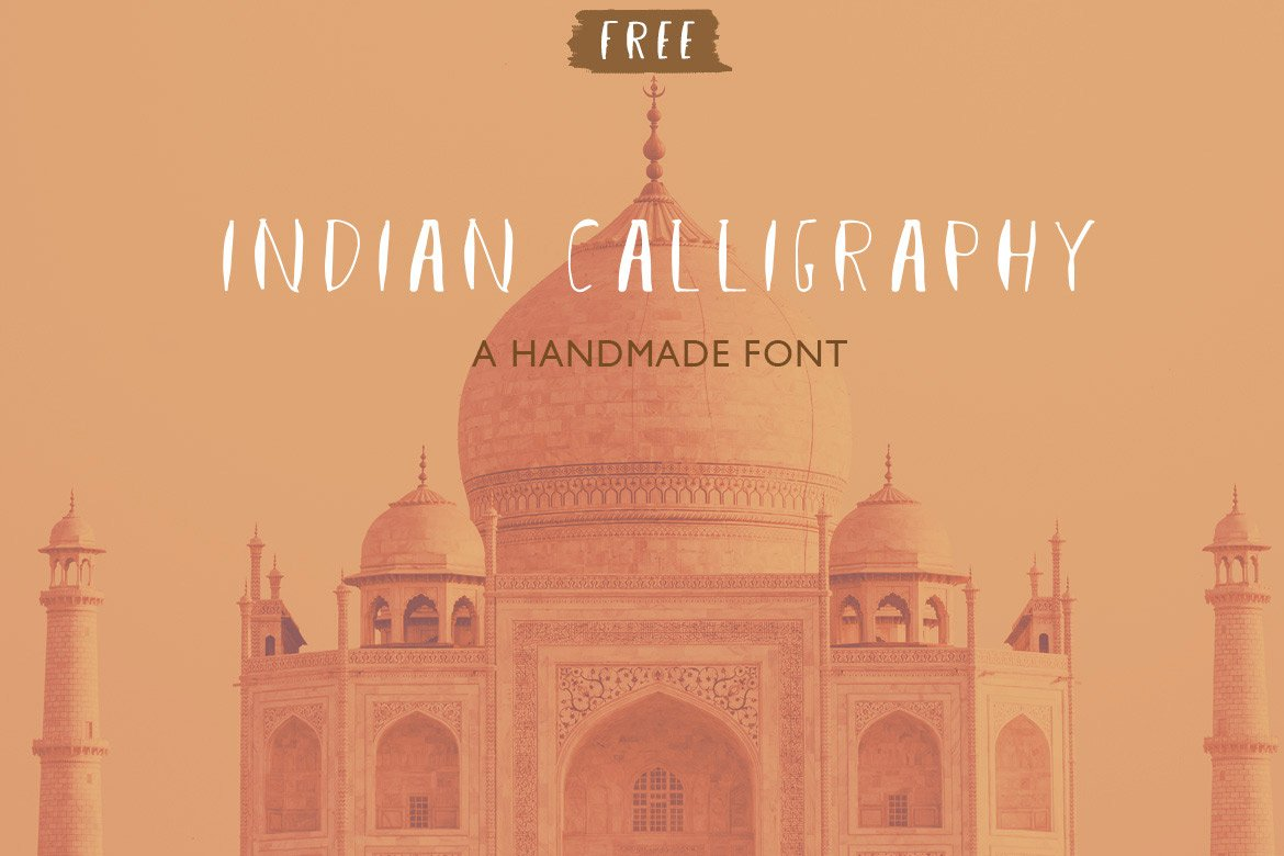 indian-calligraphy-free-font