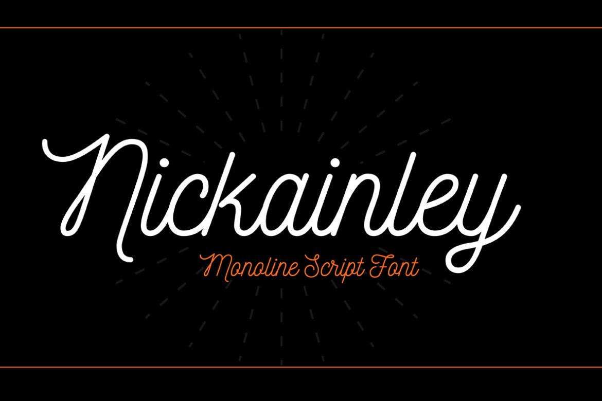 nickainley-free-font