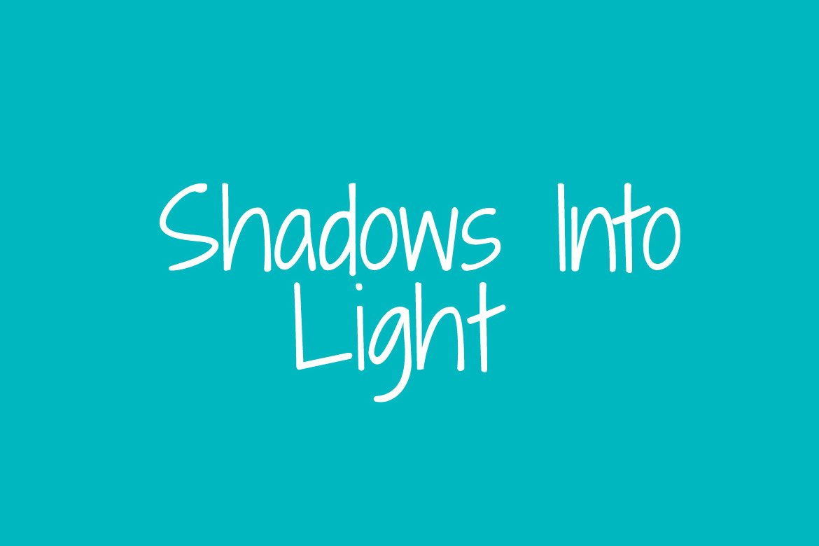 shadows-into-light-font