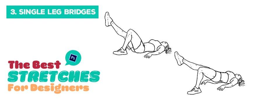 single-leg-bridges-stretches-for-designers