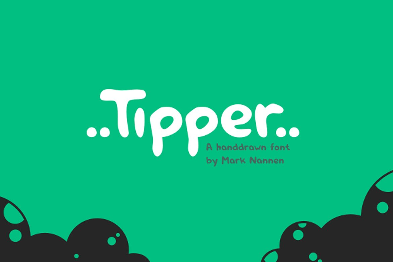 tipper-handdrawn-font