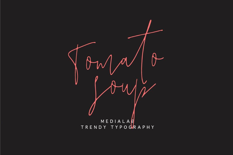 tomato-soup-free-font