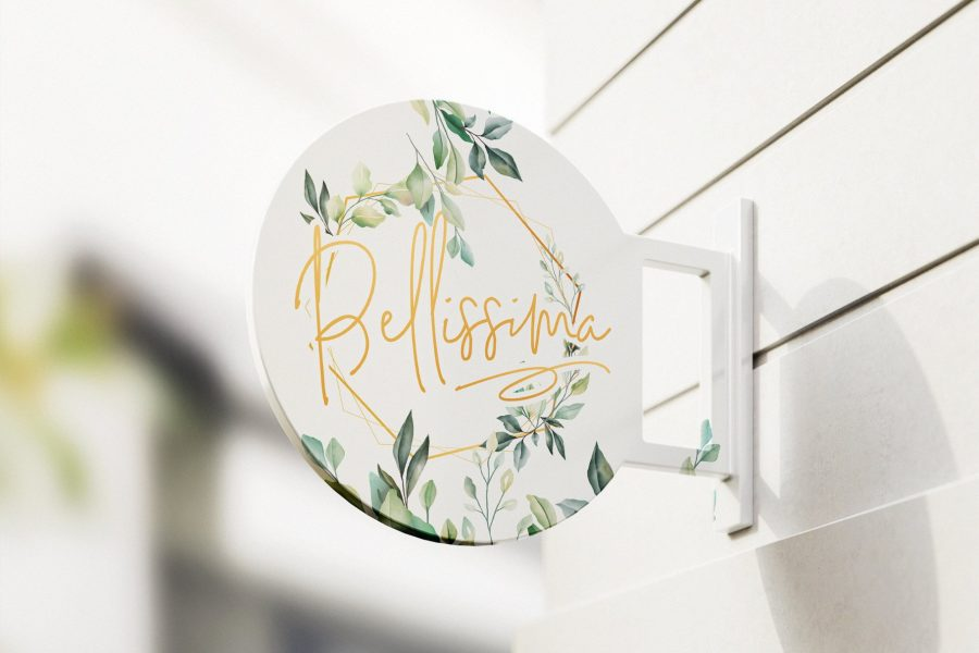 Bellissima Signature Script Font by Layerform Design Co