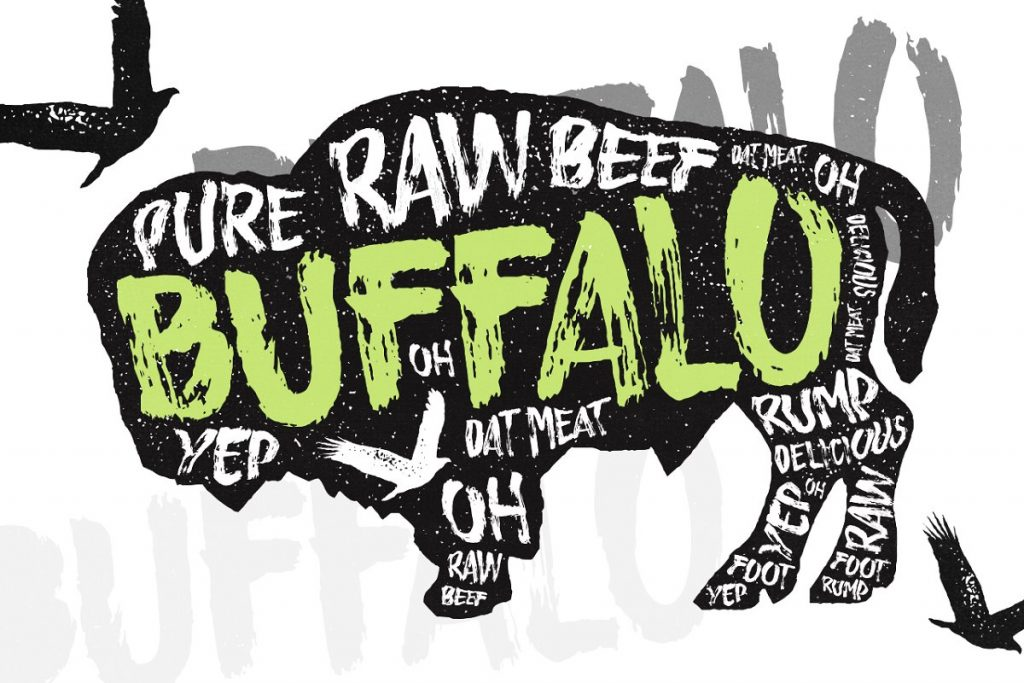 buffalo typeface by layerform design co