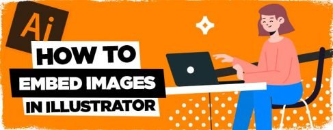 how to embed images in illustrator