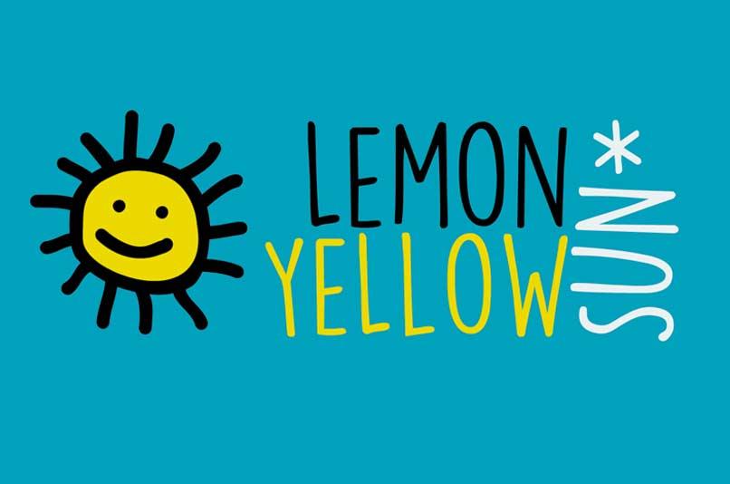 lemon-yellow-sun-handwriting-font