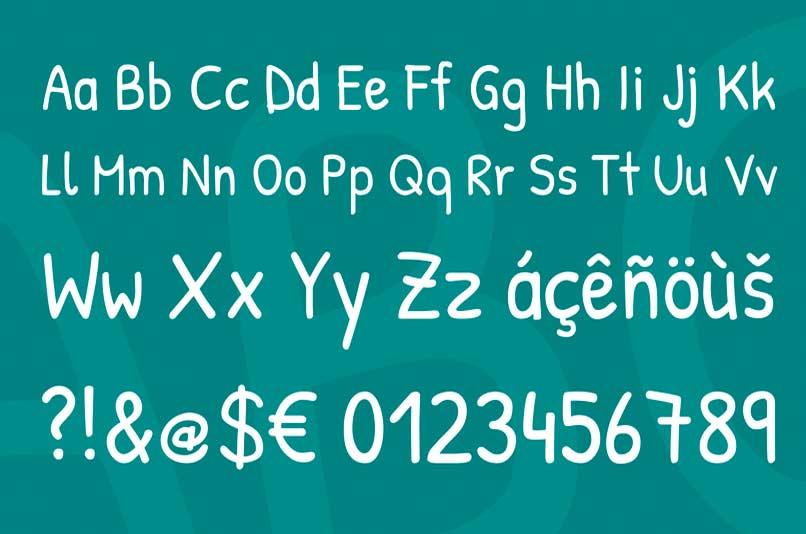 patrick-hand-handwriting-font