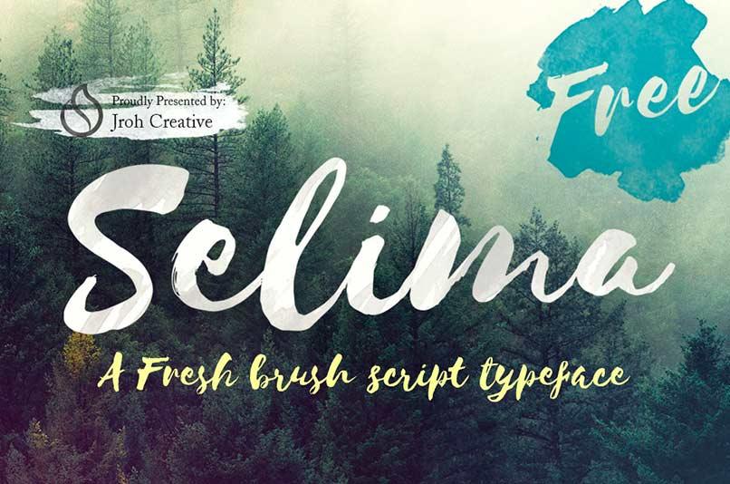 selima-fonts-that-look-like-handwriting