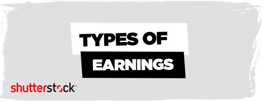 types-of-earnings