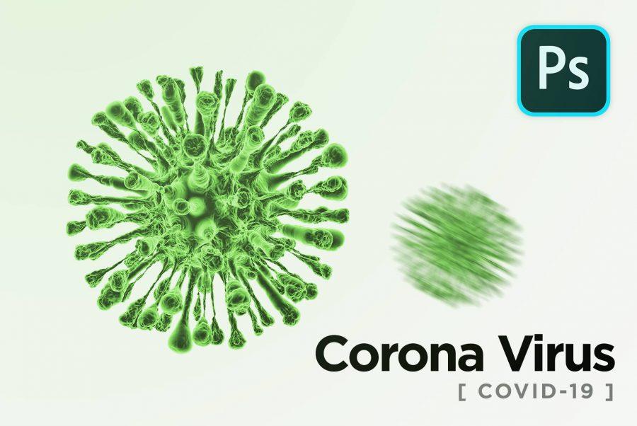 Corona Virus Graphic