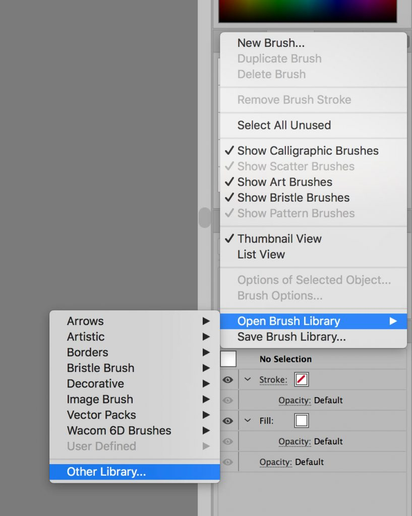 how-to-import-brushes-into-illustrator