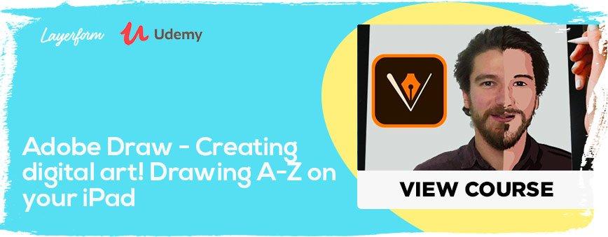 Adobe-Draw---Creating-digital-art!-Drawing-A-Z-on-your-iPad