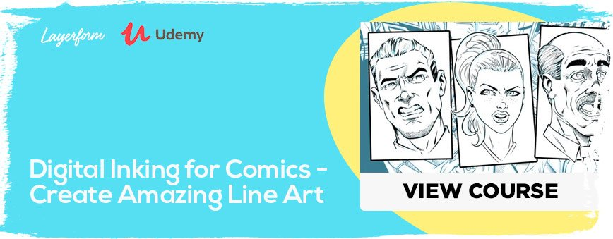 Digital-Inking-for-Comics---Create-Amazing-Line-Art