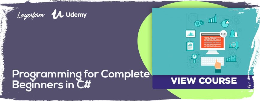 Programming-for-Complete-Beginners-in-C#
