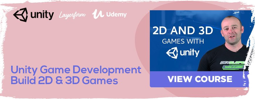 Unity-Game-Development-Build-2D-&-3D-Games